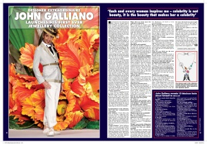 John Galliano interview